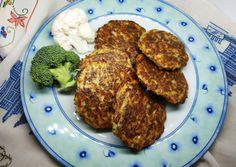 Κεφτέδες με μπρόκολο και κουνουπίδι συνταγή από Anna Beni - Cookpad Tandoori Chicken, Pork, Meat, Anna, Ethnic Recipes, Kale Stir Fry, Pork Chops