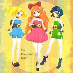 Tags: Anime, Fanart, Pixiv, Pixiv Id 83016, Power Puff Girls