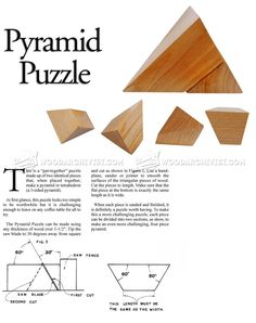 Pyramid Puzzle - Woodworking Plans and Projects   WoodArchivist.com