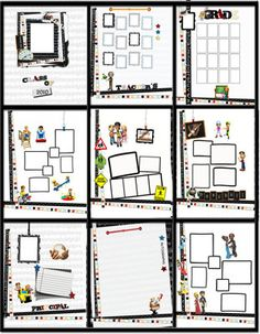 1000 ideas about yearbook template on pinterest yearbook layouts yearbooks and yearbook staff. Black Bedroom Furniture Sets. Home Design Ideas