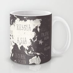 Book spine mug literary loot pinterest book spine books the world map coffee mug gumiabroncs Image collections