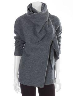 Scoop NYC | SCOOP :: Wool Wrap Coat :: Outerwear - WOMEN