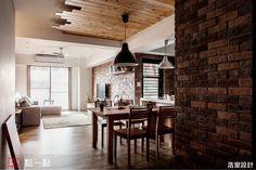 粗曠美式風格 全家都是我的咖啡館 - 點一點室內設計