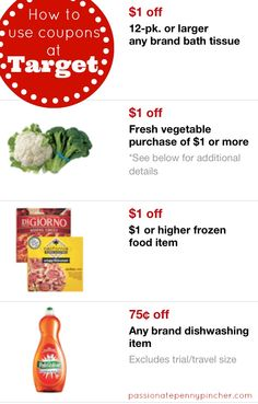 How to Use Coupons at Target ~ overwhelmed by all the different ways to coupon at Target? This is for you!!!