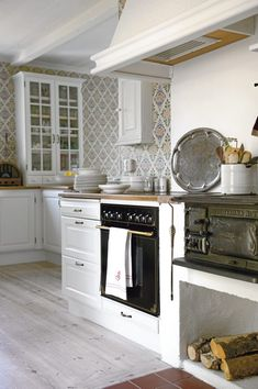 A house on the island of Gotland - Kitchen
