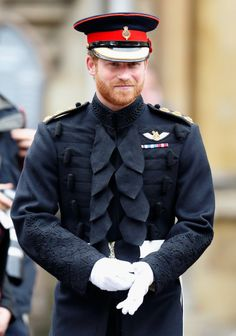 Prince Harry stepped out with his grandfather Prince Philip on Thursday to honor fallen service members at Westminster Abbey in London. Harry, who looked Prince Harry Of Wales, Prince Harry Photos, Prince Harry And Megan, Prince Henry, Prince Philip, Harry And Meghan, Prince William, Diana Spencer, Lady Diana