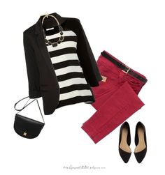 """Red & Black"" by jaycee0220 ❤ liked on Polyvore featuring See by Chloé, Oasis, Mulberry, Kate Spade and Barneys New York"