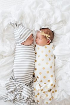 Newborn Boy + Girl Twins Newborn Photographer B Couture Photography