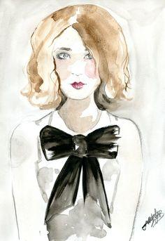 J'adore #illustration #art #sketch #fashion #gift