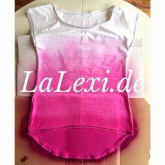 Marabu Fashion-Spray http://marabu.com/k/ilf #Marabu #IloveFashion #Outfit #Textilfarbe #Spray #Shirt #LaLexi: DIY: T-Shirt mit Farbverlauf