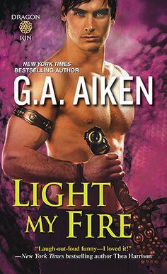 Light My Fire  (Dragon Kin  #7) by G.A.Aiken: http://www.thereadingcafe.com/light-my-fire-dragon-kin-7-by-g-a-aiken-a-review/
