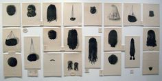 Artwork Wigs by Lorna Simpson