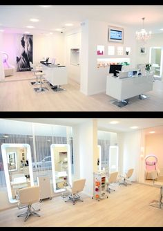 474 best salon design images beauty salon design hair studio rh pinterest com