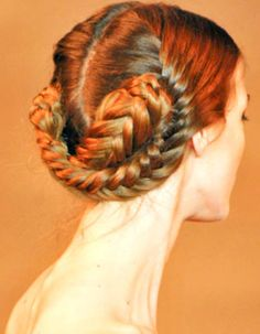 Good luck with this braid. I'd definitely need someone to do this for me.