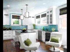 Home Decorating Style 2020 for One Checklist That You Should Keep In Mind Before Attending Walnut Wood Kitchen Cabinets Kitchen Design Color, Home, Kitchen Colors, Kitchen Remodel, Blue Ceilings, Home Kitchens, Residential Interior Design, Walnut Wood Floors, White Kitchen Design