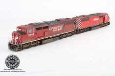 SD40-2F Red Barn