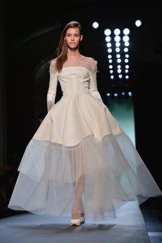 Pin for Later: Die schönsten Couture Brautkleider Jean Paul Gaultier Haute Couture Frühjahr/Sommer 2015