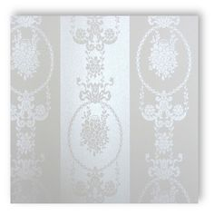 Tapete Barock creme weiß gestreift Original Image, Curtains, The Originals, Wallpaper, Creme, Home Decor, Baroque, Wallpapers, Blinds