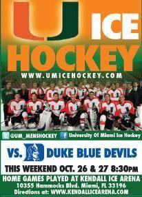 university of miami hurricanes hockey