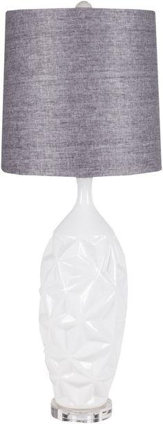 "Surya Nadia 33"" H Table Lamp with Drum Shade #Surya #ChildrensModernPreppy"