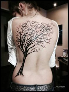 Tattoos arbre