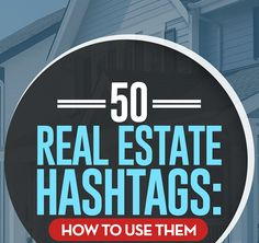 Real Estate Hashtags are a simple way to get additional attention on social media. I show you how hashtags increase your social media results.