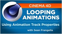 In this Cinema 4D and Cinema 4D Lite animation tutorial, learn how to create looping and oscillating animations using Animation Track Properties. The Animati...