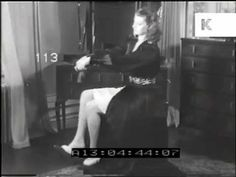 How to take care of your nylon stockings, 1940s - YouTube