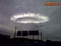 WTF IS THIS? Strange Cloud Over Moscow !! HAARP? UFO SHAPED GLOWING RING!