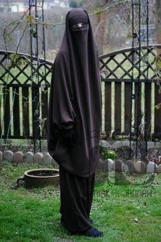 KhimarSet - Dunkelbraun