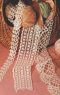 Patrón #459: Encajes a Crochet #ctejidas http://blgs.co/eKZpQ4