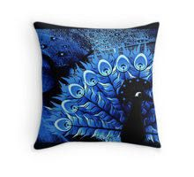 Mr Peacock Throw Pillow Cover $22.87 www.allthingspeacock.com - Peacock Throw Pillows