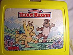 Teddy Ruxpin Lunchbox 1986. Click on the image for more information.