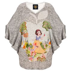 Dolman Sleeve Snow White Top by Disney Couture for Women | Tops | Disney Store