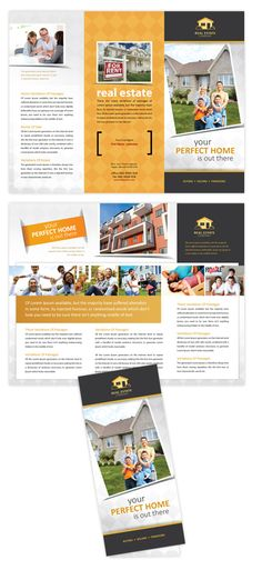 real estate tri fold brochure template - 1000 images about graphic design ideas on pinterest