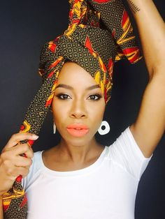 Bibiani - The Wrap Life African Hair Wrap, African Head Wraps, Turbans, Headscarves, Ethnic Hairstyles, Scarf Hairstyles, Mode Turban, Hair Wrap Scarf, Head Scarf Styles