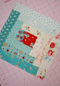 Sewn With Grace: Log Cabin Block