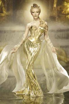 La diosa del sol.