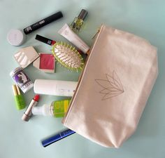 Use natural beauty products  Inside Tata Harper's #natural #beauty bag (includes Amala Rejuvenate Hand Cream!)