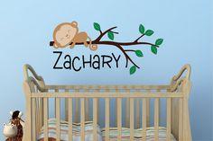 Cute custom decal for the nursery.