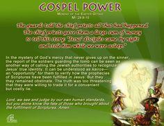 Gospel Power EASTER Octave – Monday