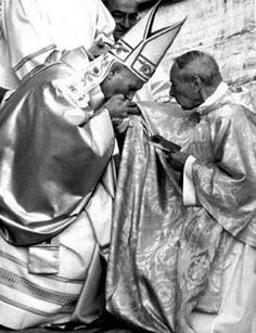 Jan Paweł II i kard. St John Paul Ii, Saint John, Pope Pius Xii, Juan Pablo Ii, Pope John, Roman Catholic, Priest, Madonna, Saints