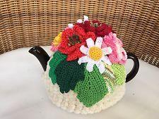 NEW  Handmade Tea Cozy Buttermint Bouquet From Ukrainian Designer