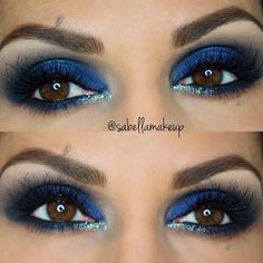 Eye Makeup Tips.Smokey Eye Makeup Tips - For a Catchy and Impressive Look Blue Eyeshadow Makeup, Eye Makeup Tips, Smokey Eye Makeup, Makeup Ideas, Makeup Hacks, Makeup Tutorials, Makeup Products, Eyeshadow Ideas, Mineral Eyeshadow