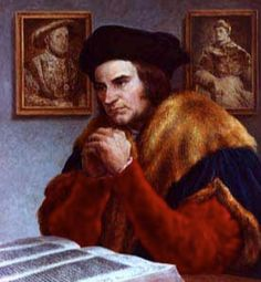 03 June 1535 - Sir Thomas More appears for a third interrogation in the Tower of London by Thomas Cromwell,Thomas Boleyn, Thomas Audley, and the Duke of Suffolk . He is asked to give an oath to the supremacy of Henry as head of the Church of England, but he remains silent.