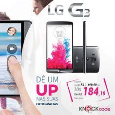 #Smartphone LG G3! #tecnologia  #barato pra iniciar bem a semana: www.celularup.com.br