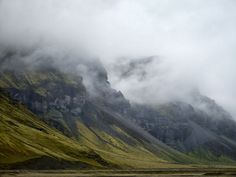 The Mighty Mists Of Iceland's South Coast