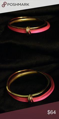Alexis Bittar Pink Lucite Bracelet & Earrings Nwot Alexis Bittar Jewelry Bracelets