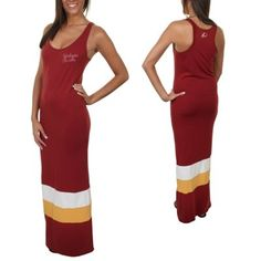 '47 Brand Washington Redskins Maxi Dress - Burgundy