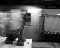 "Tom Otterness ""Life Underground"" at 14th Street Subway Station (A/C/E)  Photo Credit: Ali London"